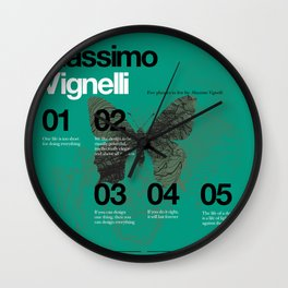 Massimo Forever 02 Wall Clock