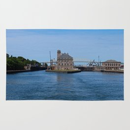 Operations Administrations Building for the Soo Locks Rug
