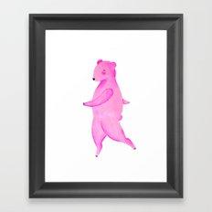 Dancing Bear №2 Framed Art Print