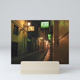 LUCE VERDE - Valencia - Spain Mini Art Print