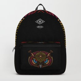 The All Seeing Owl by Fieldinspired Backpack