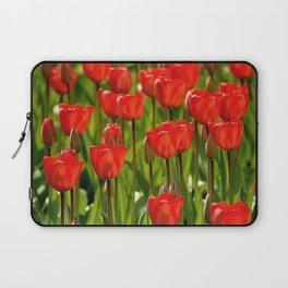 Rote Tulpen Laptop Sleeve