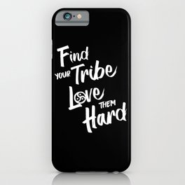 Find Your Tribe - BDSM Triskelion iPhone Case