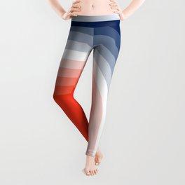 70s Stripes Rainbow Leggings