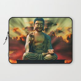 Buddha Sunrise Spiritual Zen Mantra Meditation Laptop Sleeve