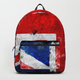 Vintage England flag Backpack