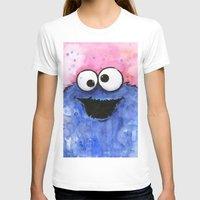cookie T-shirts featuring Cookie Monster by Olechka