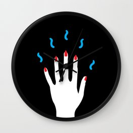 Magic Spellz 3 Wall Clock