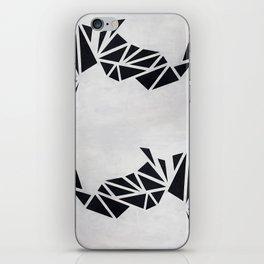 Geo Rhino (oil painting) iPhone Skin