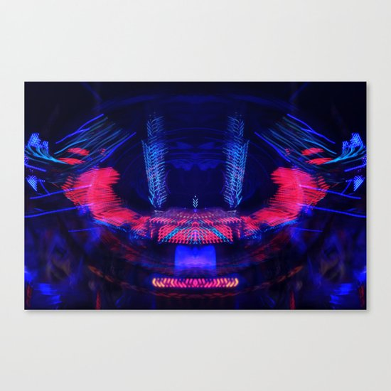 At the Show - Abstract Canvas Print