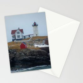 Cape Neddick Light Stationery Cards