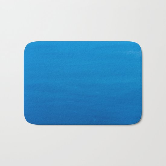 Crater Lake Blue Bath Mat