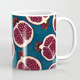 Pomegranate slices Coffee Mug