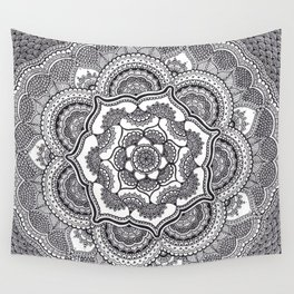 Spring Lotus Wall Tapestry