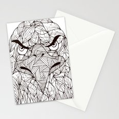 Lined Eagle Stationery Cards