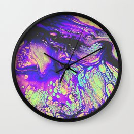 FIRE AND THUD Wall Clock