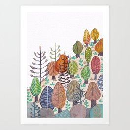 Nature in the Mountains Art Print