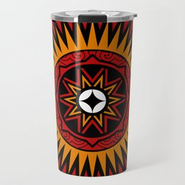 """Special engraving """"Pa'Bare Allo and Pa'Bulu Londong"""" from Toraja Travel Mug"""