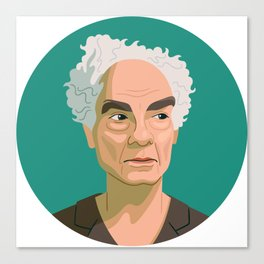 Queer Portrait - Merce Cunningham Canvas Print