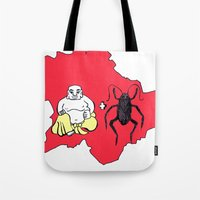 budapest Tote Bags featuring Budapest by Finah Ehsan
