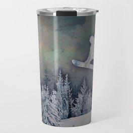 The Snowboarder Travel Mug