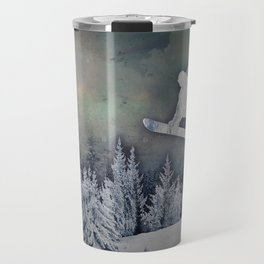 The Snowboarder Travel Mug