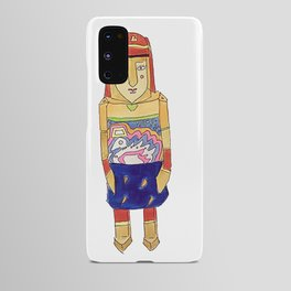Guna Wood Dolls Android Case