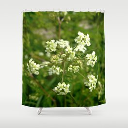 White Water Hemlock Shower Curtain