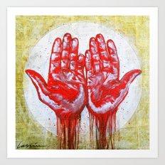 Kill to Live Art Print