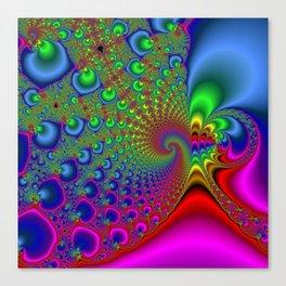 Rainbow Drain Canvas Print