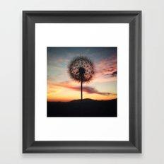 Just Dandy - Square Framed Art Print
