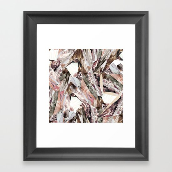 Arnsdorf SS11 Crystal Pattern Framed Art Print
