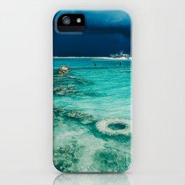 Maldivian storm 3 iPhone Case