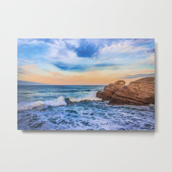 Bay of Biscay Metal Print