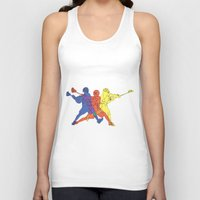 lacrosse Tank Tops featuring Lacrosse by preview