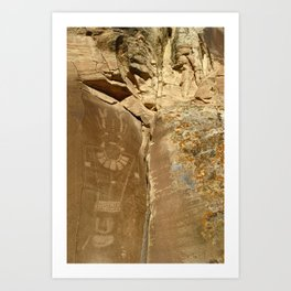 McConkie Ranch Rock Art Art Print