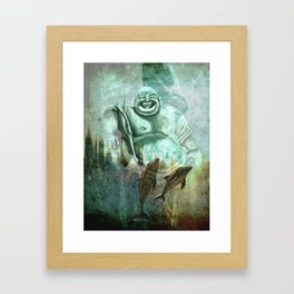 Buddha´s playground Framed Art Print
