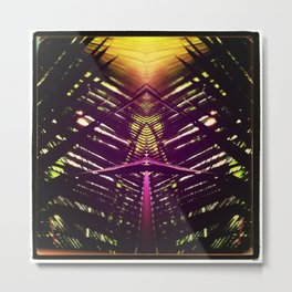 kaleidoscope palm Metal Print