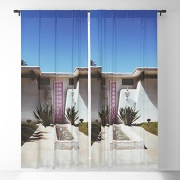 The Pink Door - Palm Springs Blackout Curtain