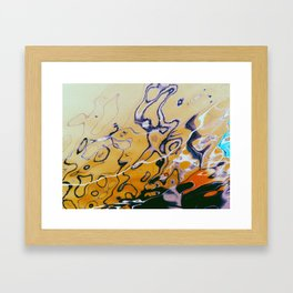 Fluid2 Framed Art Print