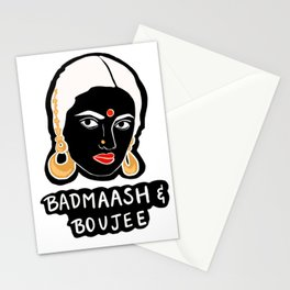 Badmaash and Boujee Stationery Cards