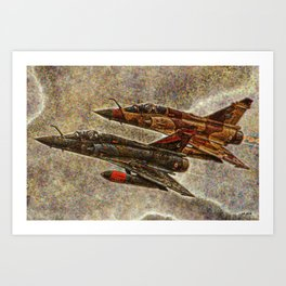 151 Couteau Delta Art Print