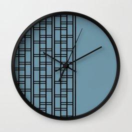 Clink Blue Wall Clock