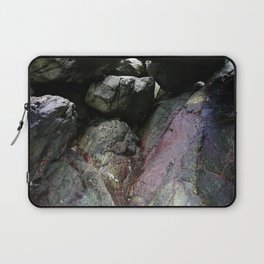 Ocean Weathered Cave Rock Formation Cornwall Laptop Sleeve