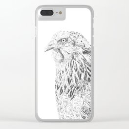 she's a beauty drawing Clear iPhone Case