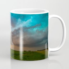 Glorious - Stormy Sky and Kansas Sunset Coffee Mug