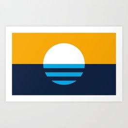The People's Flag of Milwaukee Art Print