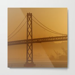 Stunning California Golden Sunrise Metal Print