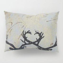 Reindeer Art Pillow Sham