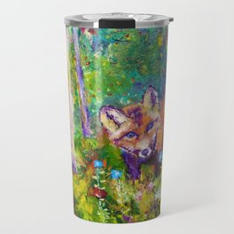 Bonnie's Fox Travel Mug